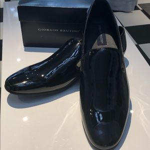 Men's Patent Finish Tux Shoes by Giorgio Brutini